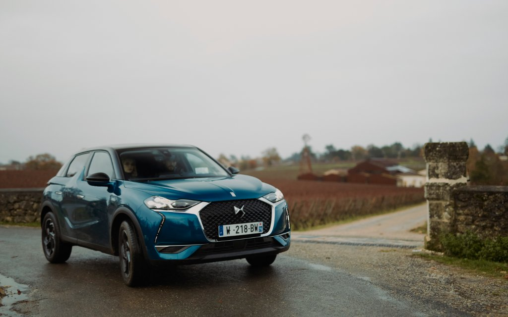DS3 Crossback - vue de face