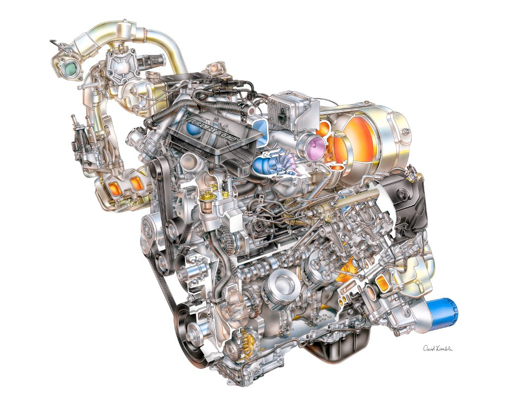 General Motors Duramax V8 6.6L HD à 4 soupapes par cylindre