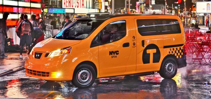 L'accord entre Nissan et les taxis de New-York invalidé