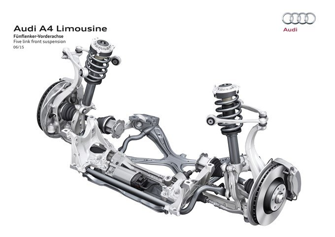 Audi A4 2016 - suspension avant