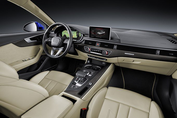 Audi A4 2016 - habitacle - places avant