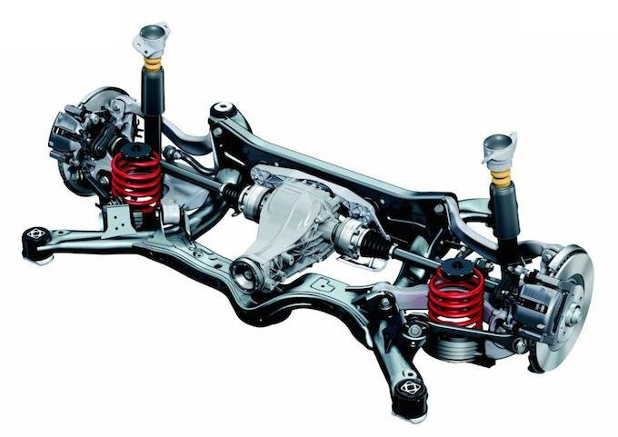 dossier les principaux types de suspension automobile
