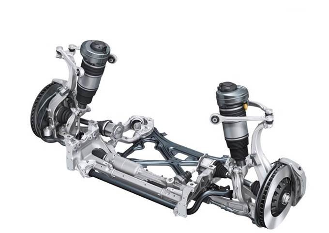 Audi Q7 - suspension adaptative pneumatique