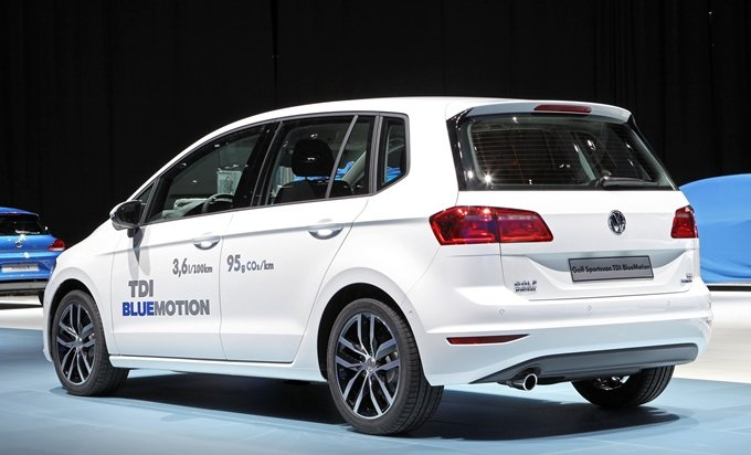 Volkswagen Golf Sportsvan TDI BlueMotion