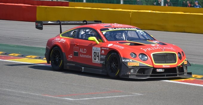 24h de Spa - circuit de Spa-Francorchamps - Bentley Continental GT3-R