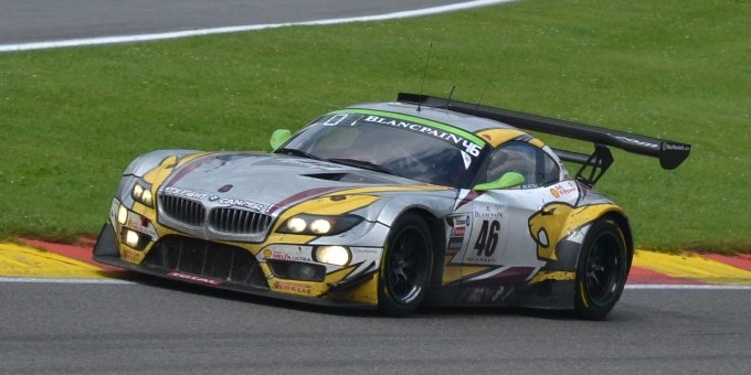 24h de Spa - circuit de Spa-Francorchamps - BMW Z4 GT3 Marc VDS Racing