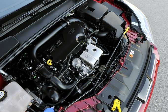 Compartiment moteur Ford Focus 1,0l Ecoboost