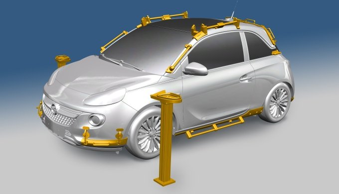 Opel Adam Rocks - impression 3D CAO