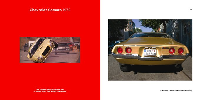 Jean-Luc Planche - My car is famous - Chevrolet Camaro 1972